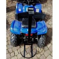 Petrol Quad bike with golf bag attachment