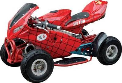 spiderman quad bike